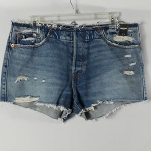 Abercrombie and Fitch raw hem shorts